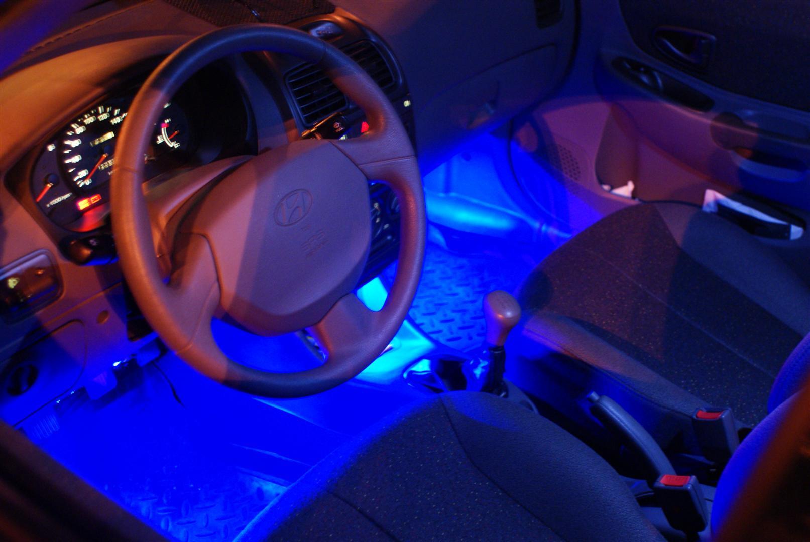 Подсветка днища автомобиля: что выбрать и как установить 60