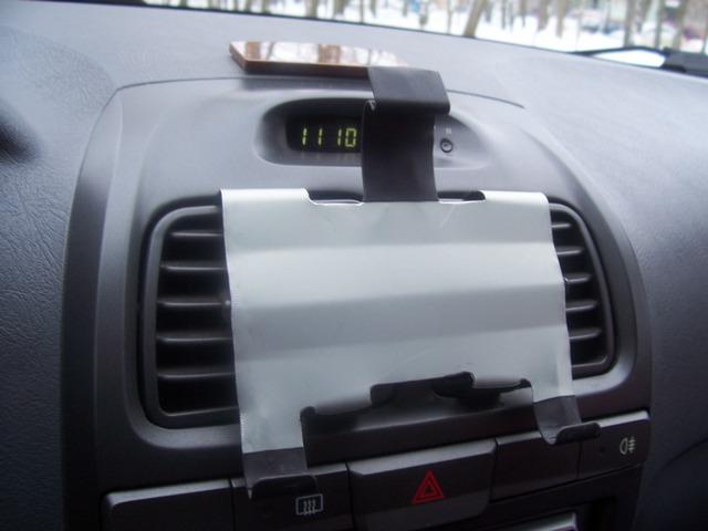 Планшет в машину своими руками фото
