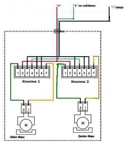 Схема подключения противотуманных фар на грузовике