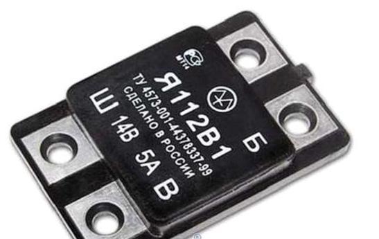 Интегральный регулятор напряжения Я112В1.