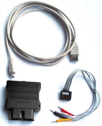 Адаптер USB-OBD II (К-line, для диагностики авто) .